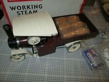 MAMOD STEAM WAGON WITH LOAD -BOXED