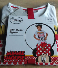 Disney Minnie Mouse Niñas Corto Pijamas/Pj 's 2-4 años de calidad probada!!!
