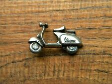 "VESPA SCOOTER VEST PIN ~1-1/8"" x 3/4"" LAPEL HAT BADGE BIKER BROCHE JACKET TIE"