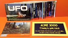 Gerry Anderson UFO Unstoppable - Basic Base Set of 54 & Dealer Promo Card EMP3