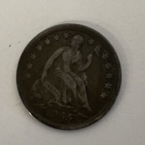 1855 Silver Seated Half Dime United States