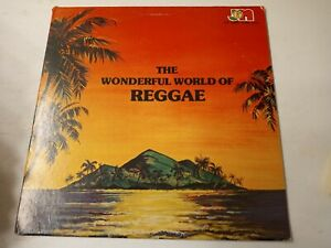 The Wonderful World Of Reggae-Various Artists Vinyl LP 1980