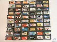 Lot of 60 Game Boy Advance Games - Spider-Man, Spongebob, Need for Speed