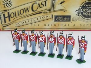 William Britain Hollow Cast Collection British Infantry with Sergeant 40194