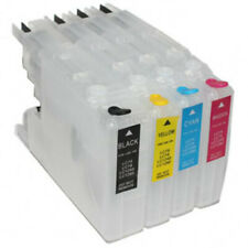 Refillable Ink Cartridges to replace Brother LC-1220 LC-1240 LC-1280