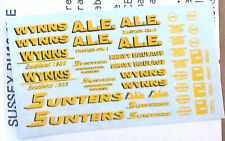 More details for heavy haulage wynns sunters al e nt5 colour n gauge scale langley models decals