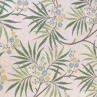 "Sanderson ""Arberella""Curtain/Upholstery Craft Fabric 3.3m Pieces  Cotton Mix"