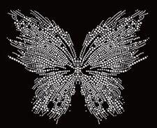 Butterfly North Rhinestone Iron on Transfer            VFIK