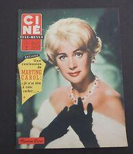 Ciné Télé-Revue n°10 - 1959. Martine CAROL