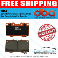 DBA SD610 SUV/Truck Performance Brake Pads (See Descr.) DB1857SD