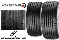 2 New Accelera PHI-2 285/30ZR20 99Y XL All Season Ultra High Performance Tires