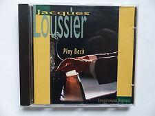 CD Album JACQUES LOUSSIER Play BACH  120502