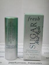 Fresh Sugar Freshening Lip Treatment MINT RUSH 4.3g / 0.15oz Full size With BOX