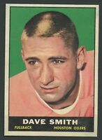 1961 Topps #141 Dave Smith RB EXMT+ C000016487