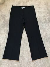 MARKS AND SPENCER LADIES NAVY WORK SUIT TAILORED TROUSERS SIZE 12 M
