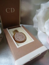 DIOR-DIOR CHRISTIAN DIOR SUPERB VINTAGE 1976 PARFUM MICRO MINI PEBBLE Nr A1 BOX