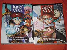 HACK LINK-xxxx- DI:MEGAME KIKUYA e hiroshi- SERIE COMPLETA- N°1/2 - esauriti