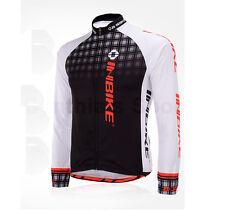 INBIKE Cycling Bike Windproof Fleeced Long Sleeves Jersey *Top Only*, IA382 FLJ