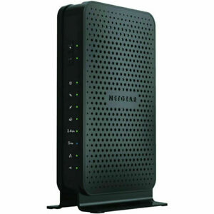 NETGEAR N600 (8x4) WiFi Cable Modem Router Combo C3700, DOCSIS 3.0