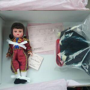 Madame Alexander Spain Matador Doll with Bull - 35605 All Original NRFB