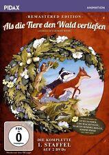 """2 DVDs *  ALS DIE TIERE DEN WALD VERLIESSEN - STAFFEL 1  # NEU OVP """""""