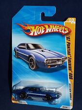 Hot Wheels 2010 New Models #003  '67 Pontiac Firebird 400 Blue w/ OH5SPs