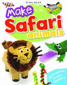 Make Safari Animals, Gillian Chapman, New Book