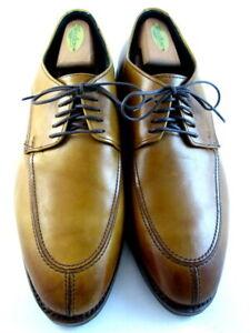 """Allen Edmonds """"CROSBY STREET"""" Men's Leather Split-Toe Blucher 9 EEE Walnut (589)"""