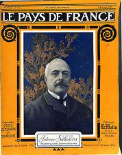 Portrait Antonio Salandra Presidente del Consiglio dei ministri del  1916 WWI
