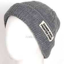 Unisex BEANIE man woman best winter Hats skull Cap ski snowboard new DDo grey