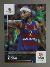 2016-17 Upper Deck Euroleague Patterned Rainbow Tyrese Rice #95