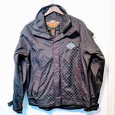 Harley Davidson Jacket Rain Waterproof PVC Coated Biker Motorcycle Racing Small