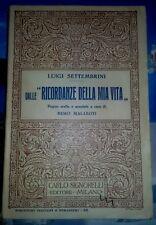 Luigi Settembrini - dalle Ricordanze della mia vita (ed. 1936)