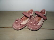 Chaussures habillées à scratch fillette rose et prune Taille 25 JUKE BOX