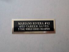 "Mariano Rivera Nameplate For A Signed Baseball Ball Cube Or Card Plaque 1"" X 3"""