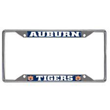 New NCAA Auburn Tigers Car Truck Chrome Metal License Plate Frame