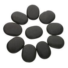 10pcs/ Set Hot Spa Rock Basalt Stone Massage Stones Health Lava Natural Gift