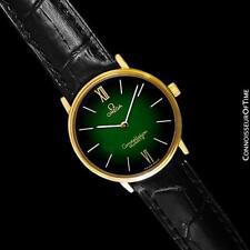 1979 OMEGA CONSTELLATION Mens Vintage Quartz Accuset Watch - 18K Gold Plated