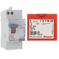 Interrupteur differentiel 40A 30ma Type A AUTO legrand 411638 neuf destockage