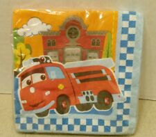 Disney Cars Baby's 1st Birthday Beverage Napkins - 16 count 2 ply