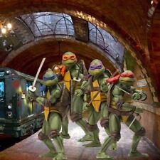 "1/6 TMNT Diorama/Backdrop 15""x15"" -  For Threezero Ninja Turtle Mondo 7"" NECA"