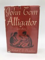 1st Edition John Tom Alligator Robert E. S. Chambers Stories First Printing Sign