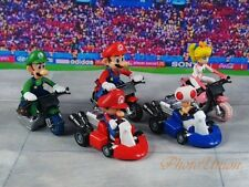 Takara Tomy Nintendo Super Mario Car Model Cake Topper Figure Decor K1335 Set 5B