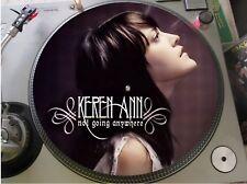 "Keren Ann – Not Going Anywhere Mega Rare Picture Disc 12"" Promo Single LP"