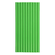 Hotmelt coloured & clear glue sticks 7mm - 7.2mm X 150mm, Pack Of 10 sticks.