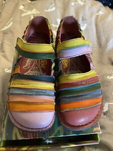 Italian Art Shoes Tulip Of Love Macanna 1960 Rare