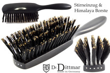 EXKLUSIV! Ebenholz Stirneinzug Himalaya Qualität Haarbürste Dr. Dittmar  Germany