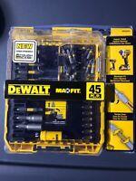 Dewalt DWA2SLS45 MaxFit Screwdriving Set (45-Piece) - F581