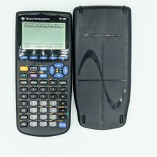 Texas Instruments Ti-89 Graphing Calculator + Cover - Tested