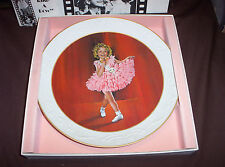 1982 BABY TAKE A BOW COLLECTOR'S PLATE-- THE SHIRLEY TEMPLE COLLECTION 10.25""